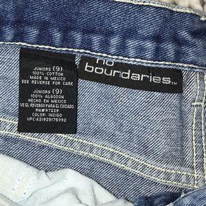 No Boundaries Shorts - No Boundaries Floral Embroidered Shorts